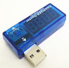 Usb charger doctor 3.5V-7V, 0A-3A voltage and current measurer