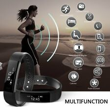 Smartwatch Fitness Tracker Bluetooth Armband Sport Uhr Android iOS Wasserdicht