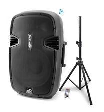 """PPHP1247UIB 12"""" 1200 Watt Bluetooth PA Speaker System + Tripod Speaker Stand"""