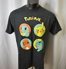 Pokemon Mens Pikachu, Squirtle Shirt New L