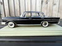 Revell 1960s Mercedes Benz 300SE W112 Rare Black 1:18 Diecast Detailed Car Model