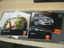 ALFA ROMEO 156 - OWNERS HANDBOOK AND WALLET WITH OLD SERVICE BOOK