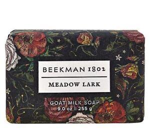 Beekman 1802 Meadow Lark Goat Milk Bar Soap 9 oz