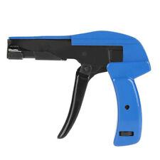 Fastening Cable Tie Tool Die Cast Steel Flush Cut Point Zip Tie Gun With Handle