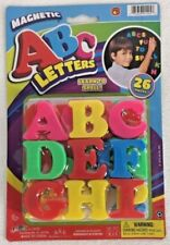 MAGNETIC LETTERS 26 Pcs. REFRIGERATOR ABC'S