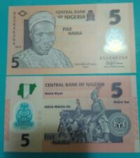 Nigeria 5 naira 2015 in fds POLYMER