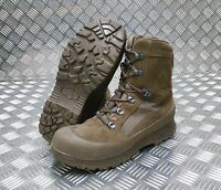 Genuine British Army Haix Desert Suede Leather Assault / Patrol Combat Boots