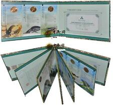 China 1993 - 1999 Rare Wildlife 5 Yuan Coin Complete Set 10pcs (UNC) With Folder