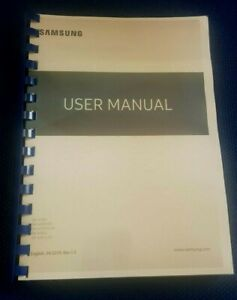 SAMSUNG GALAXY A10 - A105F PRINTED MANUAL USER GUIDE 147 PAGES A5