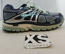 Brooks Ariel 14 Running Shoes Gray, Navy Blue Women's US Size 7 EUR 38 (F3,2)
