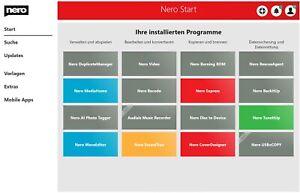 Nero Burn Express Essentials 2021 - Media Home - Download Version - ESD