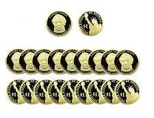 2009 S Zachary Taylor Presidential Dollar Gem Deep Cameo PROOF 20 Coin ROLL