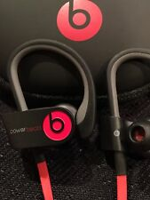 Beats by Dr Dre Powerbeats 2 Wireless In Ear Headphones - Black and Red Color