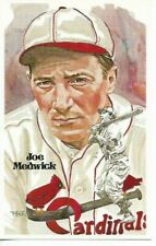 Joe Medwick Perez-Steele Hall of Fame Art Postcard St. Louis Cardinals #110