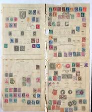 GB, Finnland, Frankreich,Belgien - frühe Sammlung ab 1889 mit 135 Marken