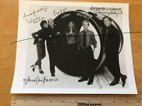 Just Shoot Me TV Show b&w 8x10 cast photo David Spade Windie Malick George Segal