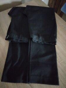 NEXT.  Boys School Trousers.  2 Pairs.  Black.   Age 16 Slim