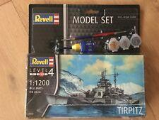 +++ Revell Model Set Tirpitz 1:1200 65822 05822