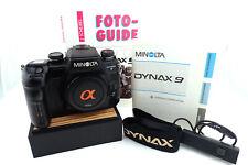 Minolta Dynax 9 35mm Spiegelreflexkamera  - working fine -
