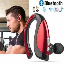 Wireless Earpiece Bluetooth Headset Stereo Handsfree Earphone for Samsung Huawei