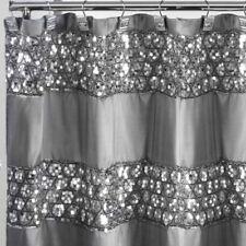 Sparkly Shower Curtain Unique Sequin Fabric Bling Sparkle Gorgeous Bathroom NEW!