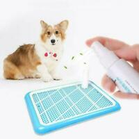 60ml Dog Potty Training Aid Puppy Cat Pet Toilet Training G2Y0 Spray Practi S7L6