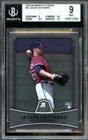 2010 bowman platinum #91 JASON HEYWARD braves rookie card BGS 9 (9 8.5 9.5 9.5)