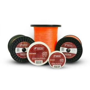 Scientific Anglers Dacron Backing - Orange - 20 Lb - 100 Yd. and 250 Yd.