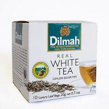 Ceylon White Tea,  20g - Dilmah White Tea 10 paks