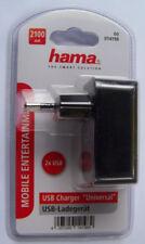 10 x USB-Ladegerät Hama Steckdose Hama 14198  2100 mA 2 x USB 220 V NEU/ OVP