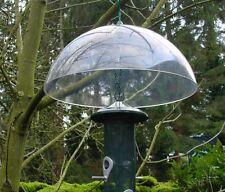 New Universal Squirrel Baffle Hanging Hook Garden Clear Dome Bird Protect Feeder