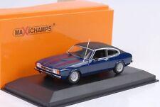 1974 Ford Capri II dunkelblau 1:43 Maxichamps  Minichamps
