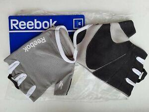 REEBOK CrossFit Training WEIGHTLIFTING MENS GLOVES SPORT Grey M L D10105 Black