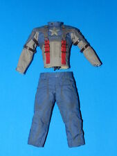 Hot Toys Marvel Captain America First Avenger 1/6 Scale MMS156 JACKET PANTS SUIT