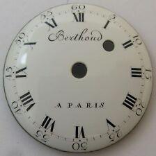 Berthoud a Paris porcelain Dial 34.6 mm chain fusee period * LC *
