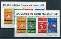 Bund Block 8 sauber postfrisch (2 Stück) BRD 734 - 737 Olympia 1972 München MNH