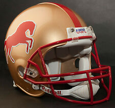 BIRMINGHAM STALLIONS USFL Riddell Pro Line FULL SIZE AUTHENTIC Football Helmet