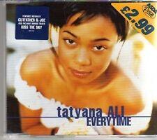 (AG408) Tatyana Ali, Everytime - 1998 CD
