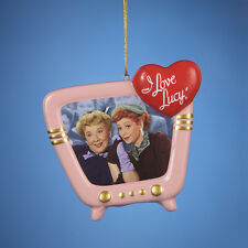 Kurt Adler I Love Lucy and Ethel Best friends Pink TV Christmas Holiday Ornament
