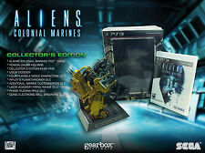Aliens Colonial Marines Collector's Edition Playstation 3 PS3 NEW
