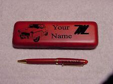 Nash Metropolitan Rosewood Pen & Case Engraved
