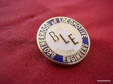 Brotherhood of Locomotive Engineers BLE RR RAILROAD TRAIN BUTTON LOGO EMBLEM HAT
