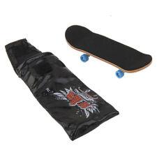 Bearing Wheels & Wooden Fingerboard Maple Wood Finger Skateboard Kids Toy