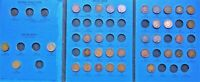 34 DIFFERENT COINS FROM 1857-1909 FLYING EAGLE CENT / INDIAN HEAD PENNY FOLDER