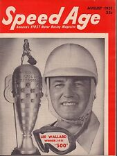 Speed Age Magazine August 1951 Lee Wallard 080217nonjhe