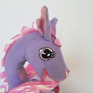 "2002 Mattel Barbie Rapunzel Penelope  Dragon Toy Plush Animated 13"" *SEE VIDEO*"