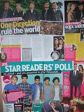 ONE DIRECTION UK Newspaper & Magazine Clippings Pack *Harry Styles Zayn Malik