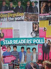 ONE DIRECTION UK Newspaper & Magazine Clippings Pack *Harry Styles Zayn Malik