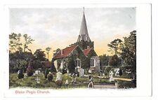Stoke Poges Church - St Giles PPC c 1905, Peacock Brand, Stoke Pogis