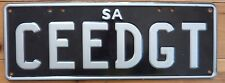 South Australia  car number plate CEEDGT